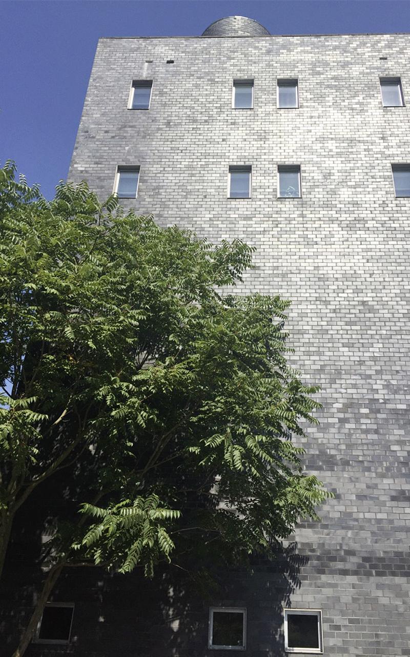 Zylka Gartenarchitektur Wohnturm in Neuss 2