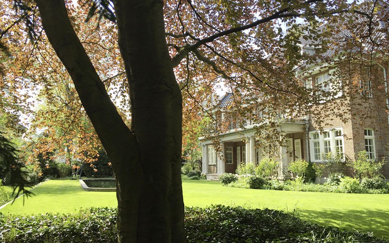 Zylka Gartenarchitektur Villa und Kavaliershaus Köln Marienburg 2